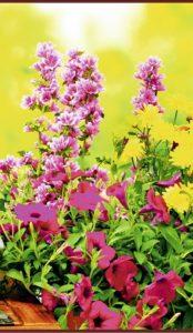 Гибкий обогреватель Цветы