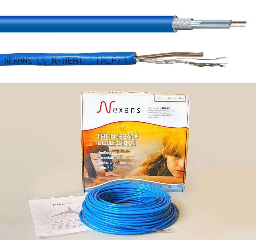 комплект одножильного резистивного греющего кабеля ТXLP/1R