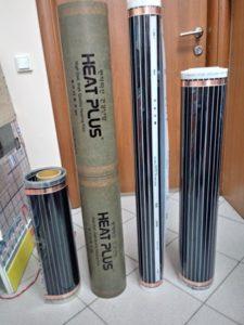 Пленочные теплые полы Rex-Va и Heat Plus (сплошной карбоновый слой)
