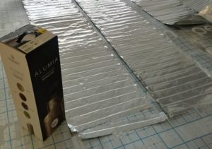 Теплолюкс Alumia -монтируется под ламинат