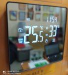 Терморегулятор WARMLIFE MIRROR зеркальный черный