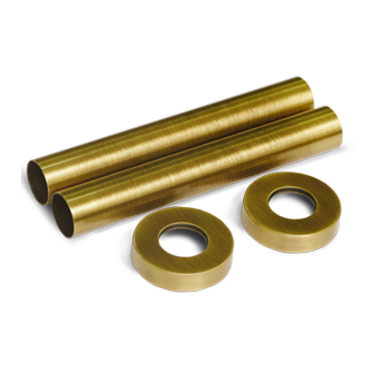 Комплект декоративных трубок золото