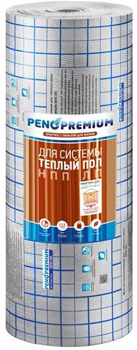 Подложка для теплого пола Пенотерм ЛП