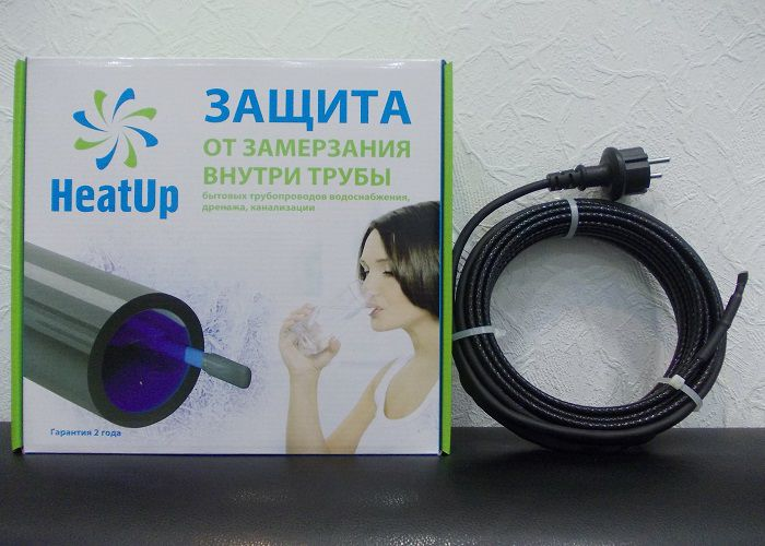 Секции для обогрева труб водопровода и канализации HeatUp