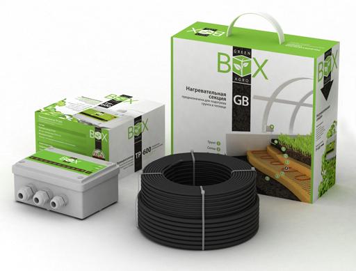 Система обогрева грунта в теплицах Green Box Agro