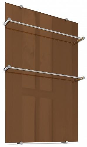 Дизайнерский полотенцесушитель Flora 90x60  с 2 держателями