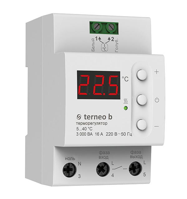 Цифровой терморегулятор Terneo b32 а